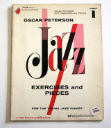 Oscar Peterson Jazz exercises and pieces Vol.1