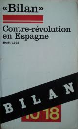 <Billan> Contre-revolution en Espagne 1935/ 1939