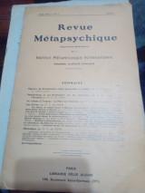 Revue Metapsychigue , publication bimestrielle de l' institute Metapsychigue international