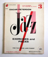 Oscar Peterson Jazz exercises and pieces Vol.3