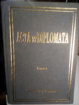Acta et diplomata - volume II