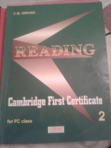 Reading Cambridge First Certificate 2 for FC class