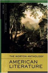 Norton Anthology of American Literature: Volume B: 1820-1865