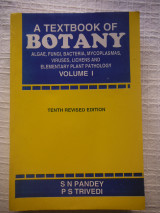 A Textbook Of Botany - Vol 1, 10Edition,  S N Pandey, P S Trivedi