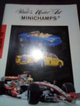 Minichamps 2008 καταλογος μινι