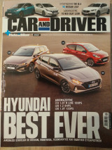 Περιοδικό Car and Driver - Τέυχος 367 Νοέμβριος 2020