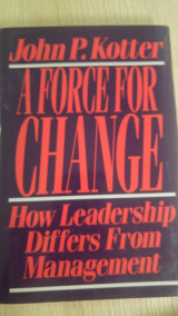 A force for Change ( How leadership differs from Management)