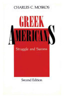 Greek Americans, Struggle and Success