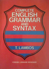 COMPLETE ENGLISH GRAMMAR & SYNTAX