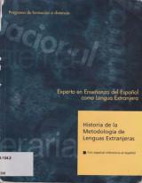 Historia de la Metodologia de Lenguas Extranjeras Con Especial Referen