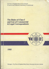 The Rules of Class I and List of Commercial & Legal Correspondents