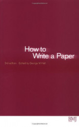 How to Write a Paper (HOW - How To)