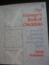 The manager's book of checklists
