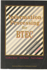 Information processing for BTEC