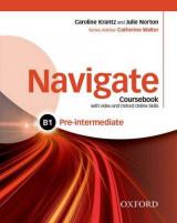Navigate: Pre-Intermediate B1: Coursebook with DVD and Online Skills