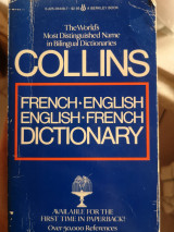 Collins French-English, English-French Dictionary