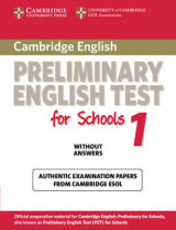 Cambridge Preliminary English Test for Schools 1 Student's Book without Answers Level 1 Cambridge Preliminary English Test for Schools 1 Student's Book without Answers: Official Examination Papers from University of Cambridge ESOL Examinations