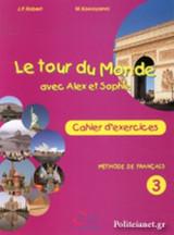 Le Tour Du Monde Avec Alex Et Sophie 3 - Cahier D' Exercices