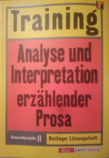 Training Analyse und Interpretation erzählender Prosa